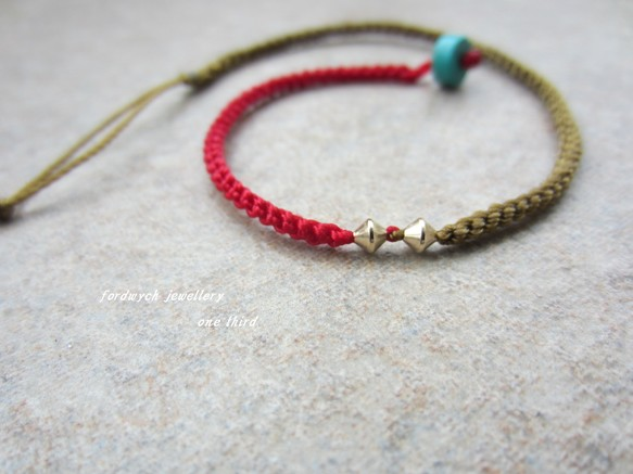 bronze & rouge 14kgf / turquoise
